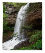 Upper Piney Falls Fleece Blanket