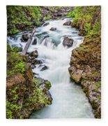 Upper Rogue River Fleece Blanket