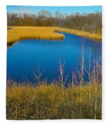 Upper Roxborough Reservoir Fleece Blanket