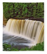 Upper Tahquamenon 6229 Fleece Blanket