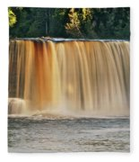 Upper Tahquamenon Falls 6279 Fleece Blanket