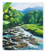 Upriver Fleece Blanket