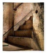 Uptown Stairs Fleece Blanket