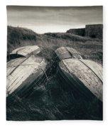 Upturned Boats Fleece Blanket
