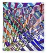 Urban Abstract 352 Fleece Blanket