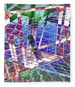 Urban Abstract 411 Fleece Blanket