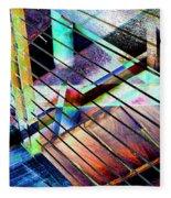 Urban Abstract 53 Fleece Blanket