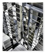 Urban Abstract 94 Fleece Blanket