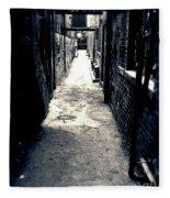 Urban Alley Fleece Blanket