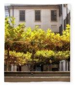 Urban Bower. Milan, Italy. Fleece Blanket