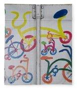 Urban Container Art I I Fleece Blanket
