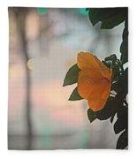 Urban Flora Fleece Blanket