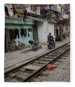 Urban Hanoi Fleece Blanket