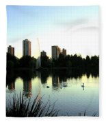 Urban Paradise Fleece Blanket