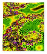 Urban Sprawl Fleece Blanket