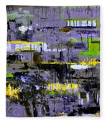 Urban Transport  Fleece Blanket
