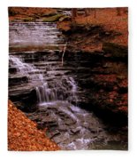 Urban Waterfall Fleece Blanket