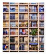 Urbanisation Fleece Blanket