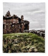 Urquhart Ruins IIi Fleece Blanket