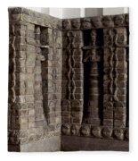 Uruk: Innin Temple Facade Fleece Blanket