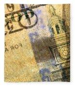 Us 100 Dollar Bill Security Features, 6 Fleece Blanket