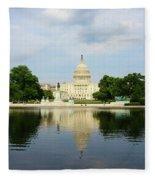 Us Capitol 1 Fleece Blanket