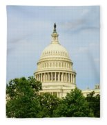 Us Capitol 2 Fleece Blanket