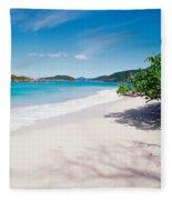 Us Virgin Islands, St. John, Cinnamon Fleece Blanket