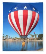 Usa Balloon Fleece Blanket