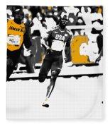 Usain Bolt Bringing It Home Fleece Blanket