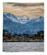 Ushuaia Ar 9 Fleece Blanket