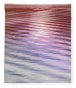 Ushuaia Ar - Ocean Ripples 2 Fleece Blanket