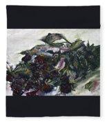 Ususena Ruze - Po Trech Kouscich A - Detail Fleece Blanket