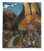 Utah Canyon Fleece Blanket