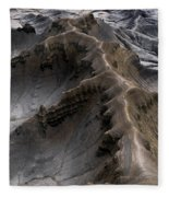 Utah Moonscape Fleece Blanket