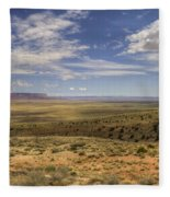 Utah Sky Fleece Blanket