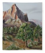 Utah Valley Fleece Blanket