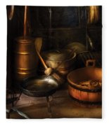 Utensils - Colonial Utensils Fleece Blanket