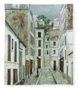 Utrillo: Limpasse, 1911 Fleece Blanket