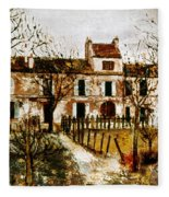 Utrillo: Montmagny, 1908-9 Fleece Blanket