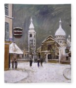 Utrillo: Montmartre, 1931 Fleece Blanket