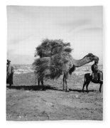 Uzbekistan: Caravan, C1910 Fleece Blanket