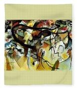 V 1911 Vasily Kandinsky Fleece Blanket