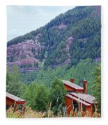 Vail Landscape Fleece Blanket