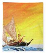 Vaka Taurua Fleece Blanket