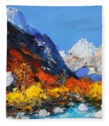 Valbona Fleece Blanket