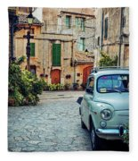 Valldemossa - Majorca Fleece Blanket