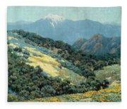 Valley Splendor Fleece Blanket