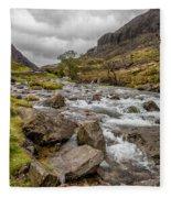 Valley Stream Fleece Blanket