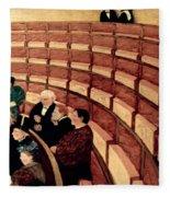 Vallotton: Gallery, 1895 Fleece Blanket